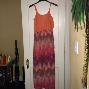 EUC Faded Glory Maxi dress